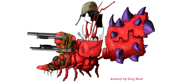 Lobstergeddon art by Greg Scott